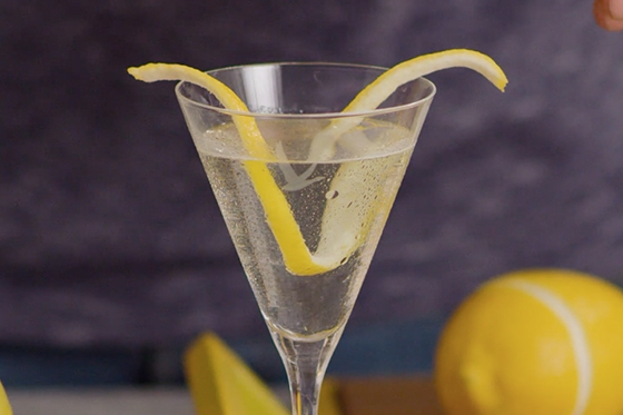 Behind The Bar | How To Make a Lemon Twist Garnish