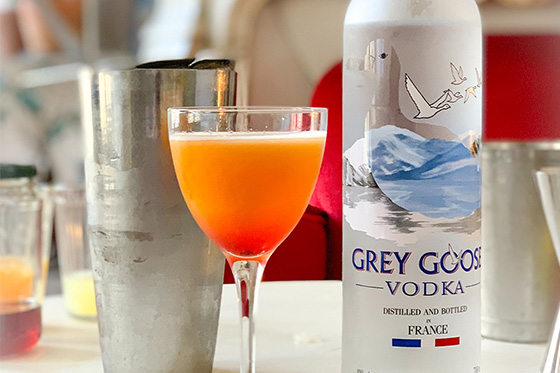 Punch On Lock Cocktail Recipe | Grey Goose House Pour