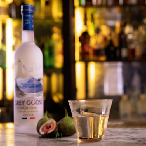 Fresh Fig Infused Vodka Cocktail | Grey Goose Vodka