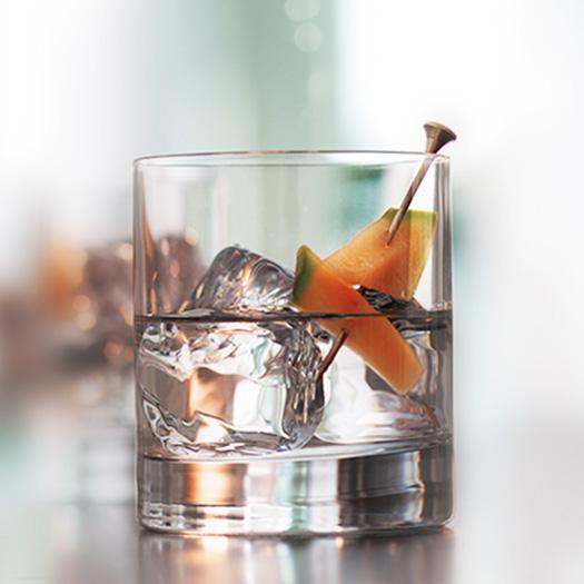 On the rocks cocktails