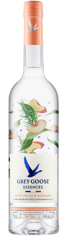 GREY GOOSE® Essences White Peach & Rosemary bottle