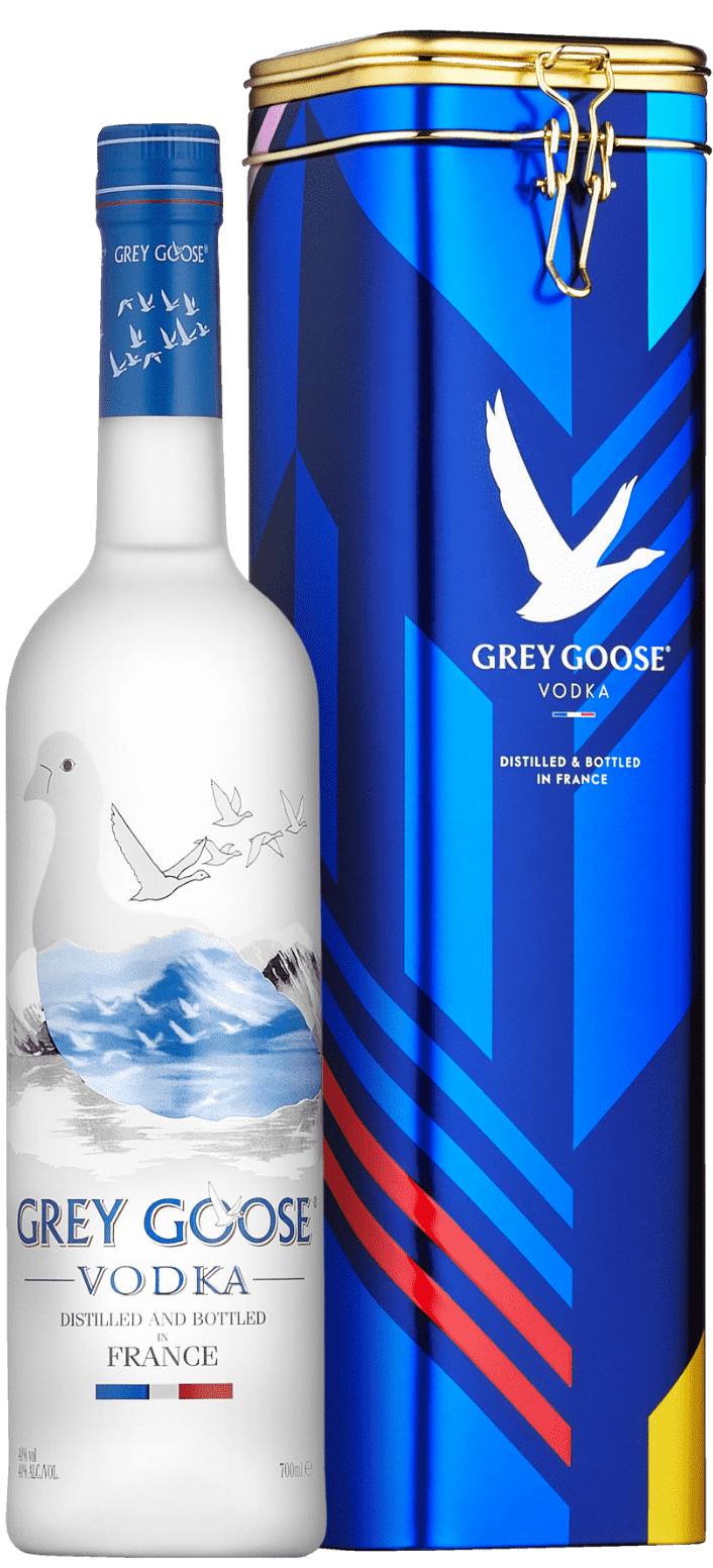 GREY GOOSE® Collectible Gift Tin bottle