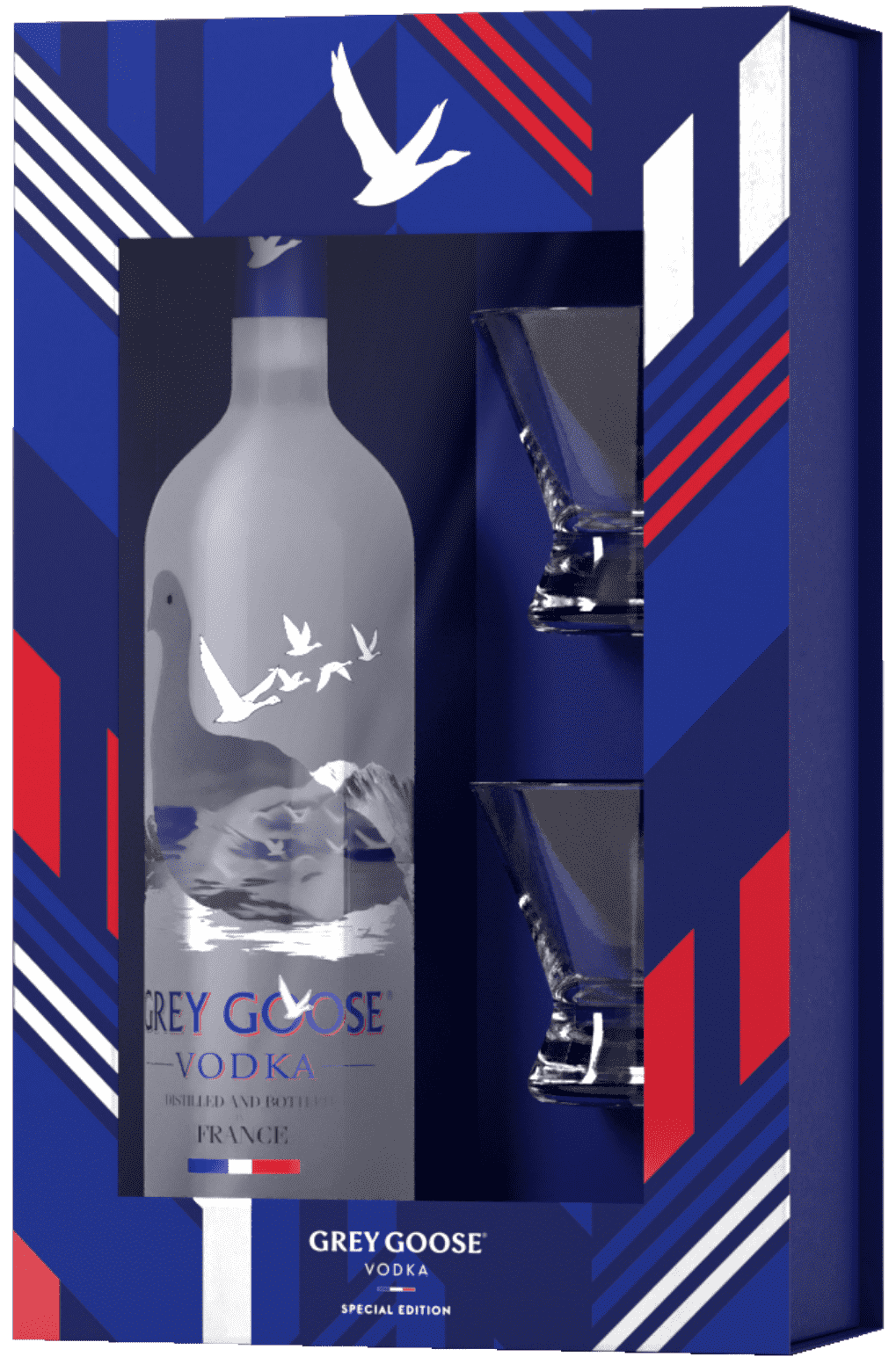 GREY GOOSE® Special Edition Holiday Box Set bottle