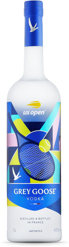 2020 US Open Tennis Limited Edition GREY GOOSE® Bottle bottle