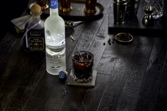 Six Second Cocktails - Black Russian | Grey Goose Vodka