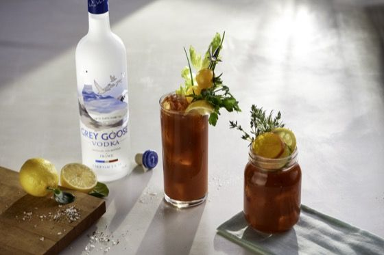 Six Second Cocktails - Le Citron Bloody Mary | Grey Goose Vodka