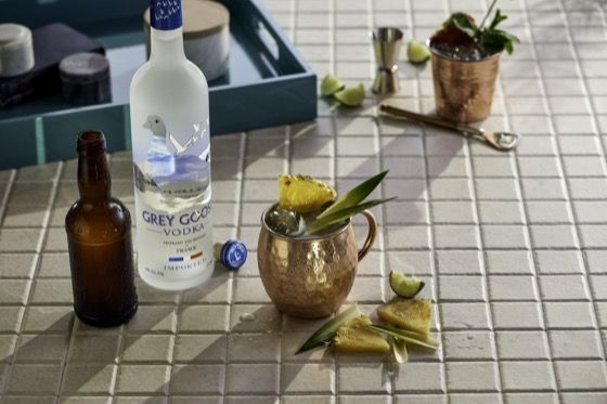 Six Second Cocktails - Moscow Mule | Grey Goose Vodka