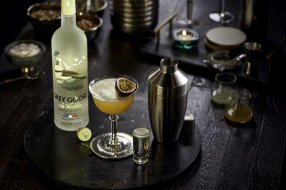 Six Second Cocktails - Passionfruit Martini | Grey Goose Vodka