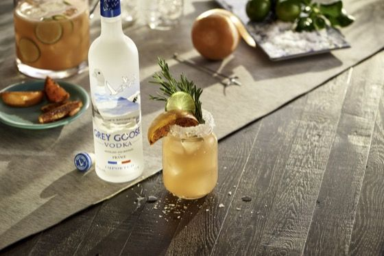 Six Second Cocktails - Salty Dog | Grey Goose Vodka