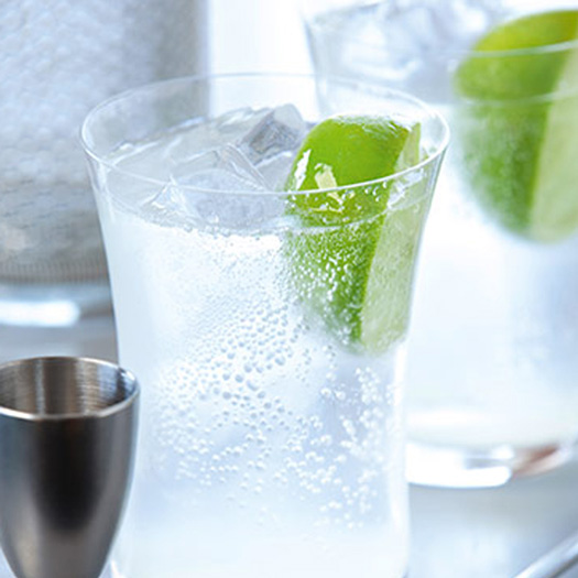 GREY GOOSE Vodka Lime and Soda