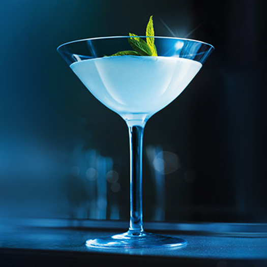 Snowflake Martini Cocktail