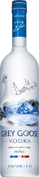 GREY GOOSE® Vodka tequila bottle