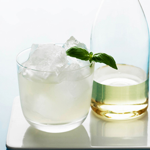 Basil and Key Lime Gimlet